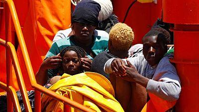 إنقاذ عشرات المهاجرين قبالة ساحل جزيرة جران كناريا الإسبانية