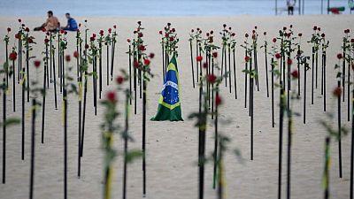 Brazil reports 44,178 new coronavirus cases, 1,025 deaths
