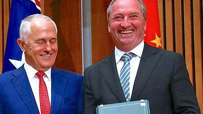 Barnaby Joyce to be Australia's new deputy prime minister -reports