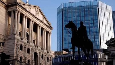 Bank of England sees inflation peaking at over 3% before falling back