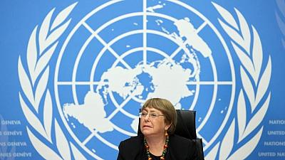 U.N. rights chief says HK security law prompts media self-censorship