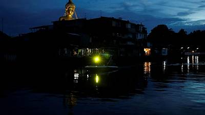 Thai temple says construction of giant Buddha statue visible across Bangkok nearly complete