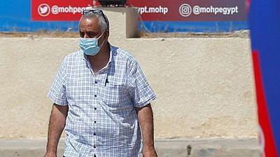 مصر تسجل 509 حالات إصابة جديدة بفيروس كورونا و39 وفاة