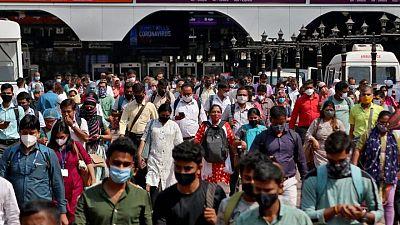 الهند تسجل 46148 إصابة و979 وفاة جديدة بكوفيد-19