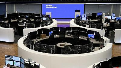 European shares rise as recovery optimism lifts banks, miners