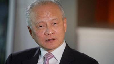 Chinese ambassador to U.S. to leave post after eight years