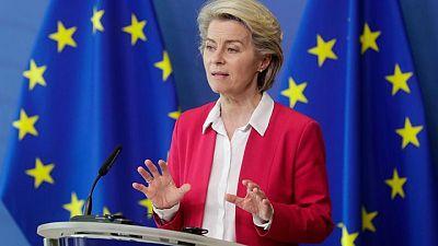 Turkey needs further help handling Syrian refugees, EU's von der Leyen says