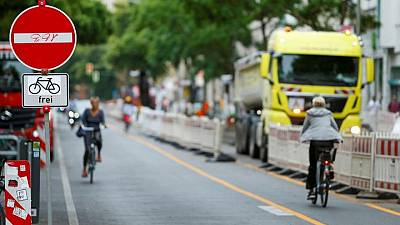 Berlin expands bike lanes as COVID cycling boom continues