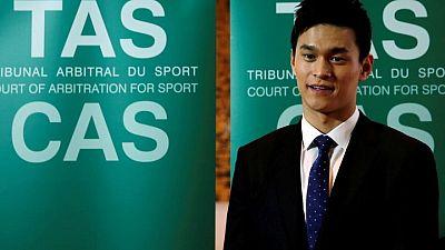 تقليص عقوبة إيقاف السباح سون بسبب المنشطات لأربع سنوات لكنه يغيب عن الأولمبياد