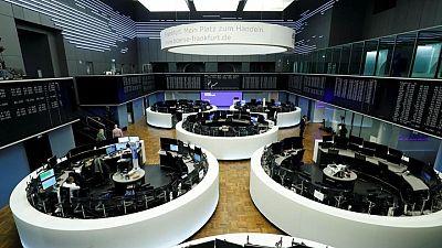 Worries over economic recovery shake world stocks, dollar gains
