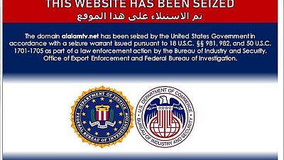 U.S. blocks websites linked to Iranian disinformation