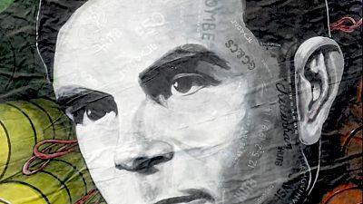 Britain's spy agency honours codebreaker Turing in giant artwork