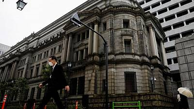 BOJ policymakers saw prospects of quicker recovery in April - minutes