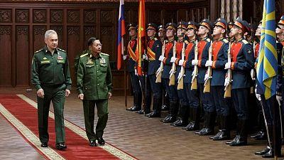 روسيا تقول إنها ستعزز روابطها العسكرية مع ميانمار