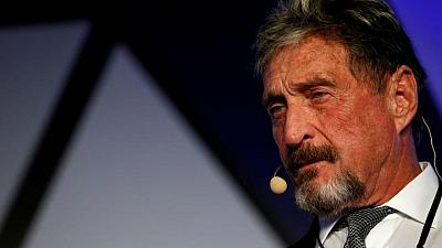 John McAfee found dead in prison after Spanish court allows extradition