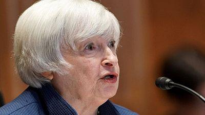 Yellen dice que sin aumento en límite deuda, EEUU podría enfrentar riesgo de incumplimiento en agosto