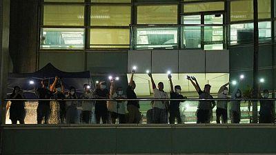 Heartbreak in newsroom as Apple Daily bids farewell to Hong Kong