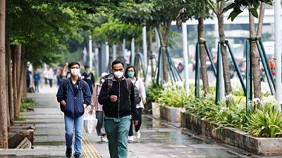 إندونيسيا تسجل 20574 إصابة بكورونا في ارتفاع يومي قياسي