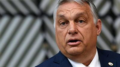 Hungarian PM says he is gay rights fighter, defends new law