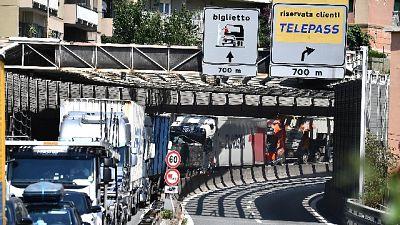 Caos tra cantieri e ponte per il patrono di Genova