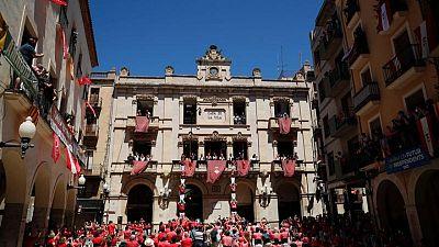 Human towers return to Catalan town as coronavirus ebbs