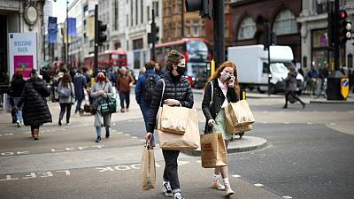 UK consumer sentiment holds at post-COVID high