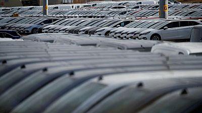 UK car output halved as chips shortage bites