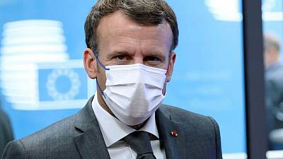 France's Macron says tensions with Turkey have eased
