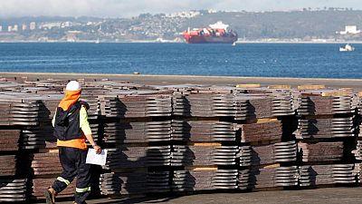METALES BÁSICOS-Precios del cobre suben tras acuerdo infraestructura EEUU