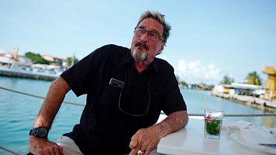 Software entrepreneur John McAfee was not suicidal, widow says