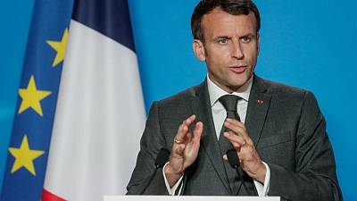 Macron says he is not 'obsessed' with Putin summit after Franco-German proposal rejected