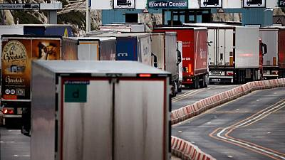 Britain could face food shortages due to lorry driver crisis