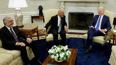 """بايدن: الشراكة مع أفغانستان """"ستستمر"""""""