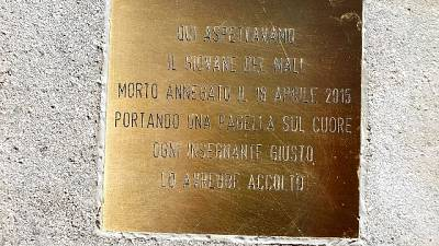Inaugurata da scuola media Curzi, 'lo aspettavamo qui'