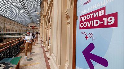 Regiones rusas suspenden vacunación por falta de dosis en medio de alza de casos de COVID-19
