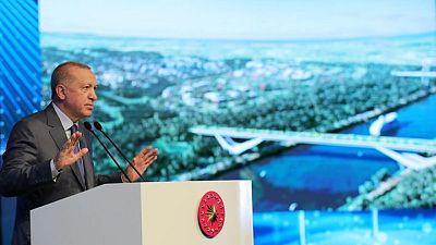 """Kanal Istanbul"" project kicks off with bridge construction"