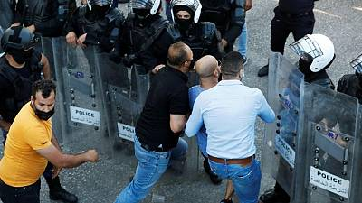 Palestinian Authority deploys forces during protest against critic's death