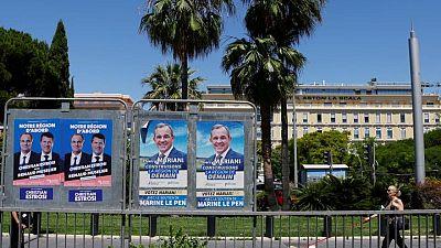 French presidential hopefuls seek momentum in regional election run-offs