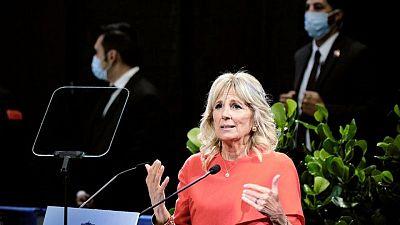 Primera dama EEUU asistiría a Juegos de Tokio, aunque sin Joe Biden: reporte