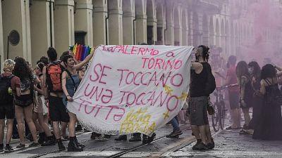 L'episodio a Milano la notte prima del Pride