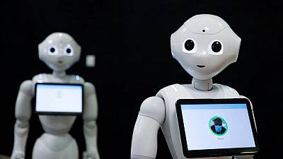 Exclusive-SoftBank shrinks robotics business, stops Pepper production- sources
