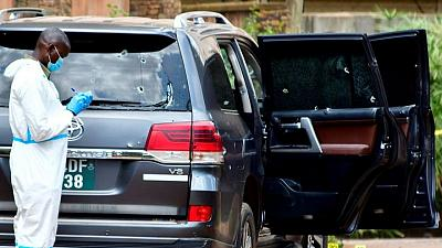 Uganda charges two suspects over attempted assassination of minister