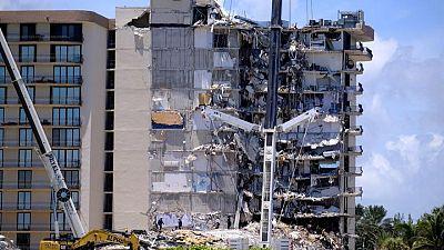 إذاعة: مسؤول بفلوريدا طمأن سكان المبنى المنهار على حالته عام 2018 رغم تحذير هندسي