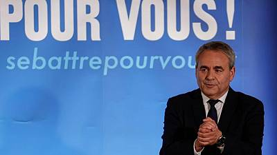 Ex-salesman Bertrand emerges as right's challenger for French presidency