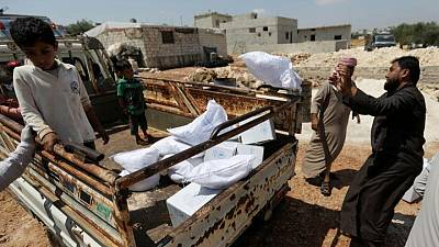 U.S., other nations call for unimpeded delivery of aid to Syria
