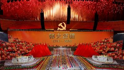China's ruling party censors its past as centenary nears