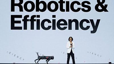 Verizon exhibe robots conectados a 5G en conferencia en Barcelona