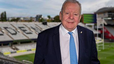 Le président de World Rugby, Bill Beaumont, présidera le jury du Prix des médias et de la photographie de Rugby Afrique