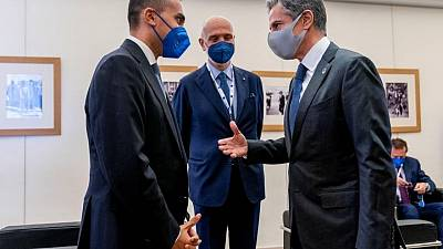 G20 foreign ministers meet face-to-face after pandemic