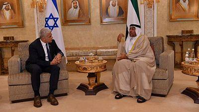 """En inauguración de embajada en EAU, Israel dice a la región: """"Estamos aquí para quedarnos"""""""